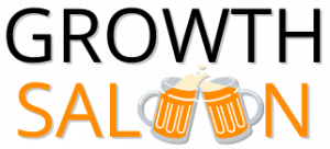 Growth Saloon logo - black font