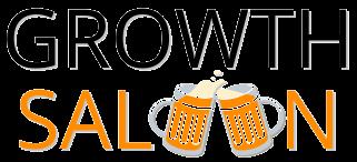 Growth Saloon logo - black font